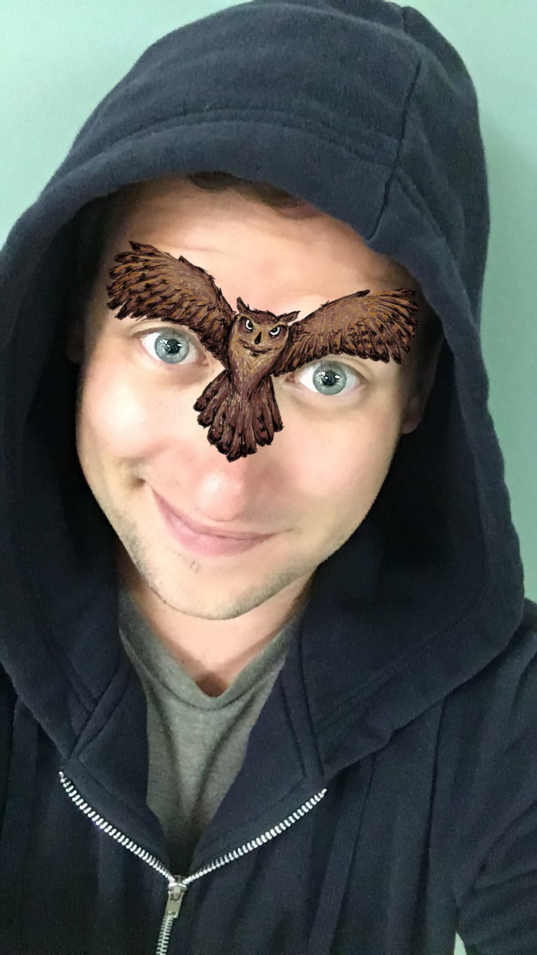 Night Owl Snapchat Lens